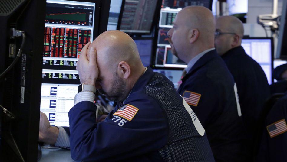 Händler an der Wall Street