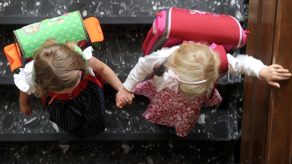 Grundschülerinnen in Nordrhein-Westfalen (vor der Corona-Epidemie)