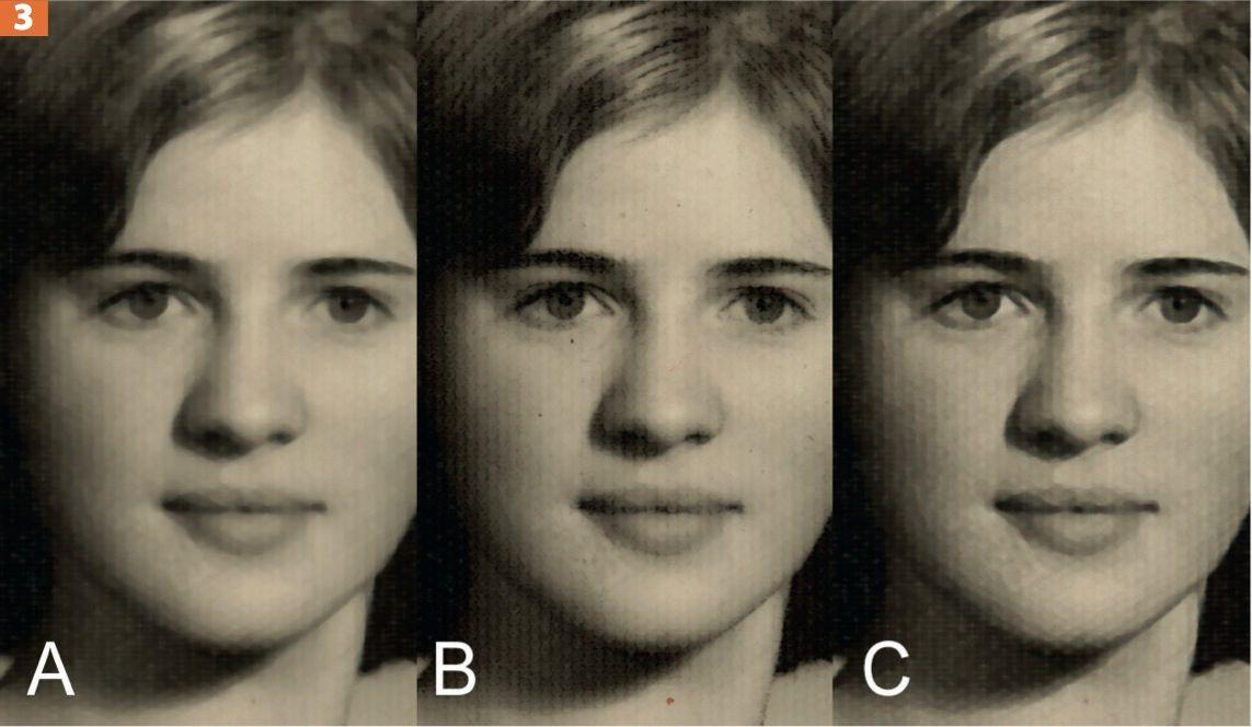 EINMALIGE VERWENDUNG Fotostruktur entfernen