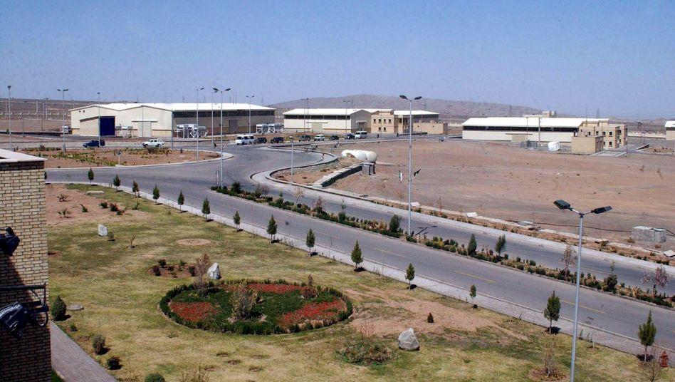 Die Atomanlage Natanz im Jahr 2005
