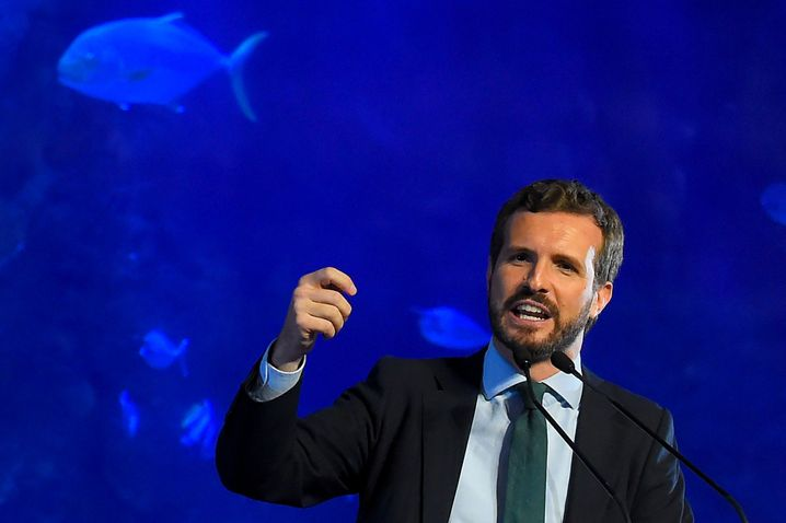 Konservativer PP-Chef Casado: Abkehr vom harten Rechtsruck