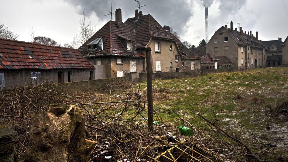 Verfallene Siedlung im Ruhrgebiet