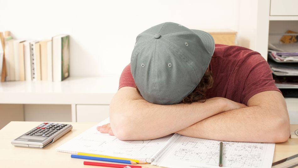 Zum Verzweifeln: Jungen haben es in der Schule oft schwerer als Mädchen