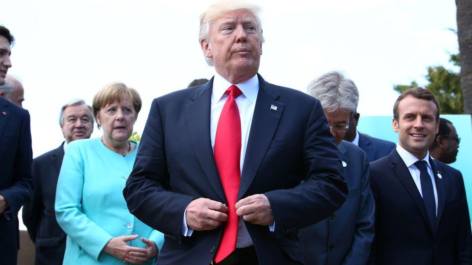 US-Präsident Trump in Taormina