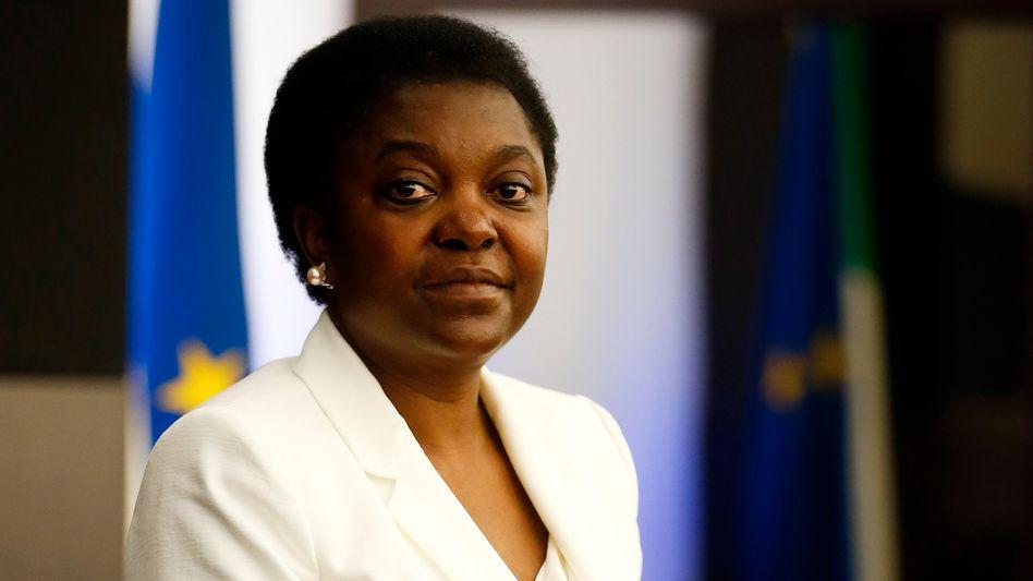 Ministerin Kyenge: Erste schwarze Ministerin Italiens