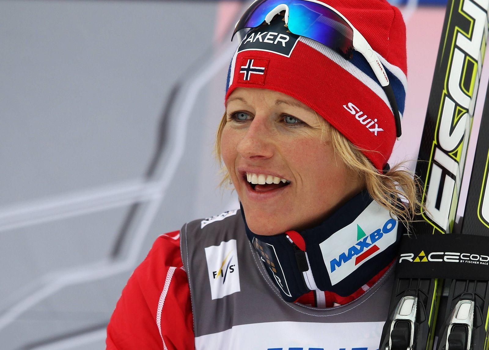 EINMALIGE VERWENDUNG Marit Bjoergen