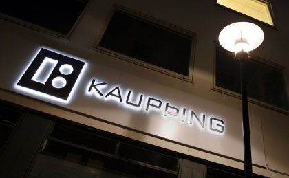 Kaupthing-Filiale in Reykjavik: Bundesregierung will sich für deutsche Sparer einsetzen