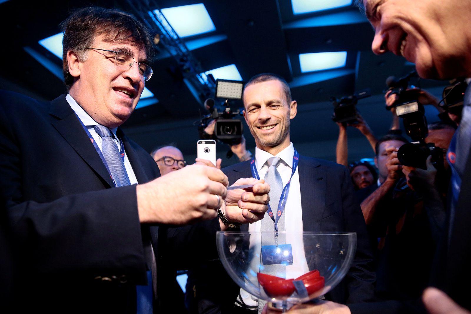 SOCCER-UEFA/ELECTION