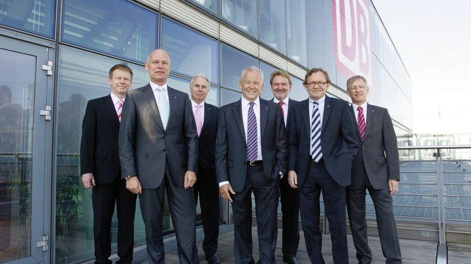Vorstandsmitglieder der DB Mobility Logistics AG