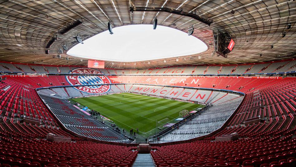 Münchner Allianz Arena: »Erfolgt die Änderung des Spielorts aus Gründen höherer Gewalt, werden keine Rückerstattungen vorgenommen«