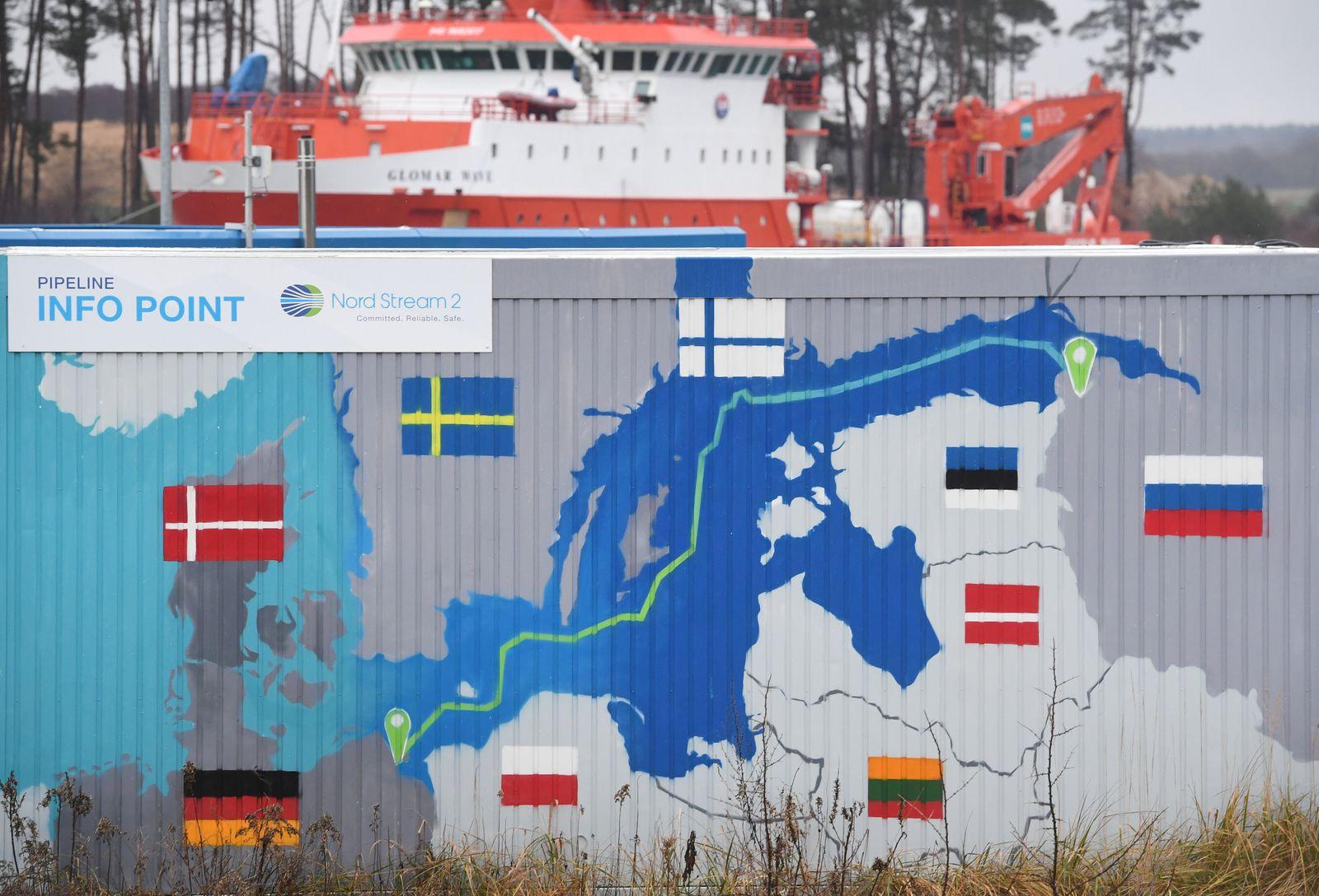 Nord Stream 2: USA wollen erstmals ein Unternehmen bestrafen
