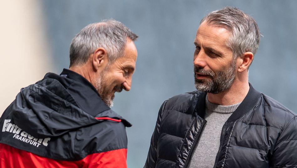 Adi Hütter und Marco Rose – Trainer neuen Typs