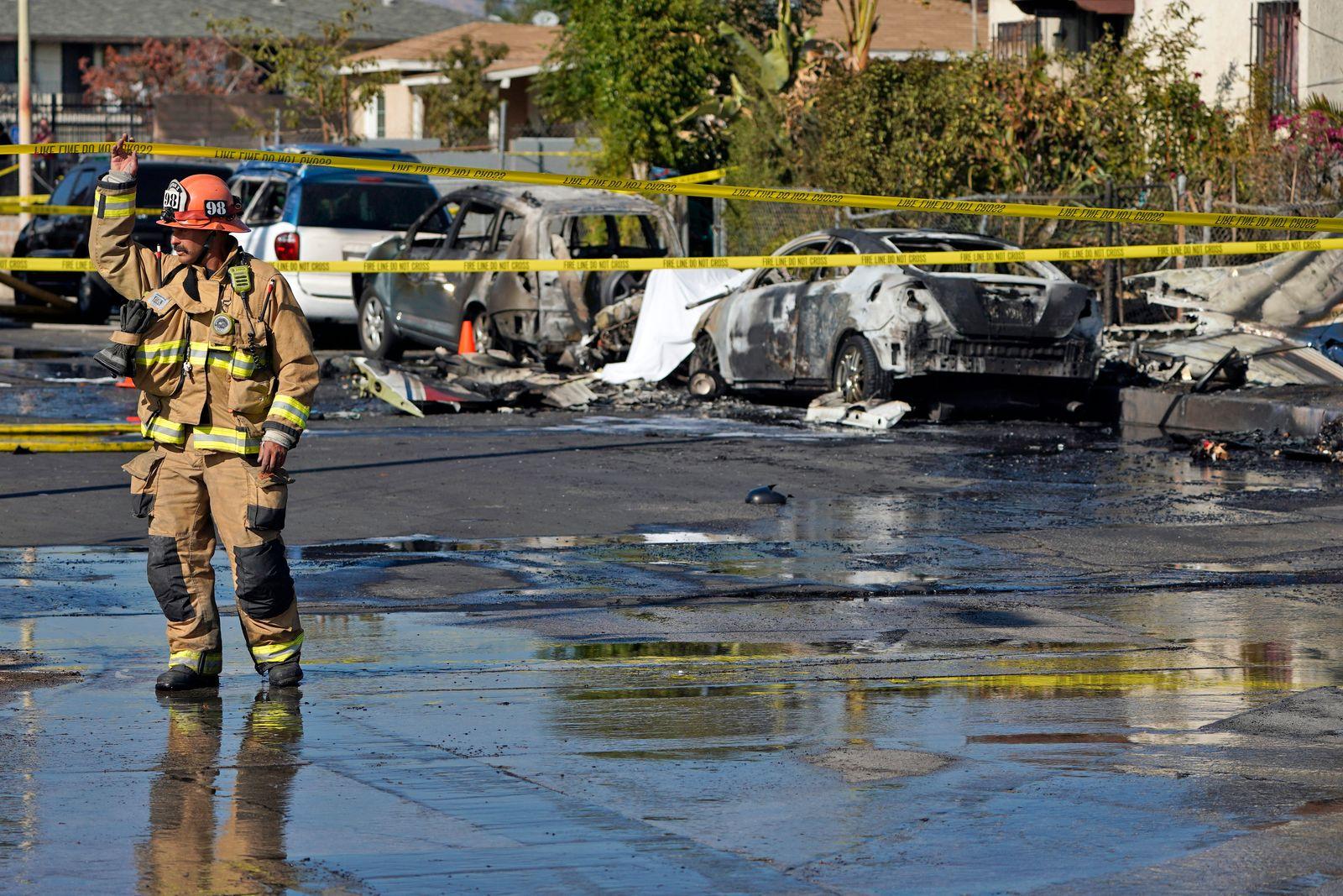 Los Angeles Small Plane Crash