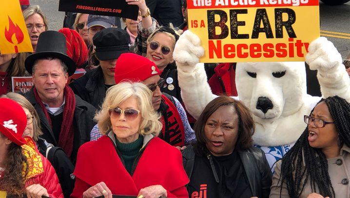 Jane Fonda: Vom Sexsymbol zur Klimaaktivistin
