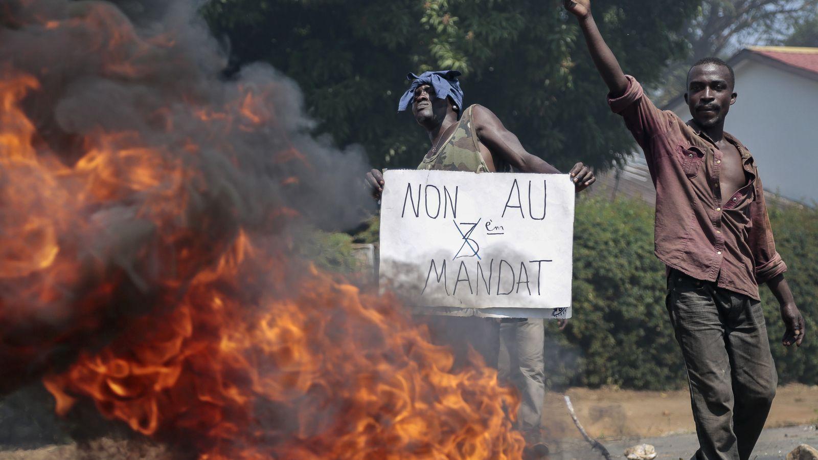 Burundi Barrikade