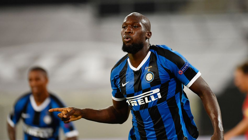 Für Bayer zweimal zu oft nicht zu verteidigen: Inters Romelu Lukaku