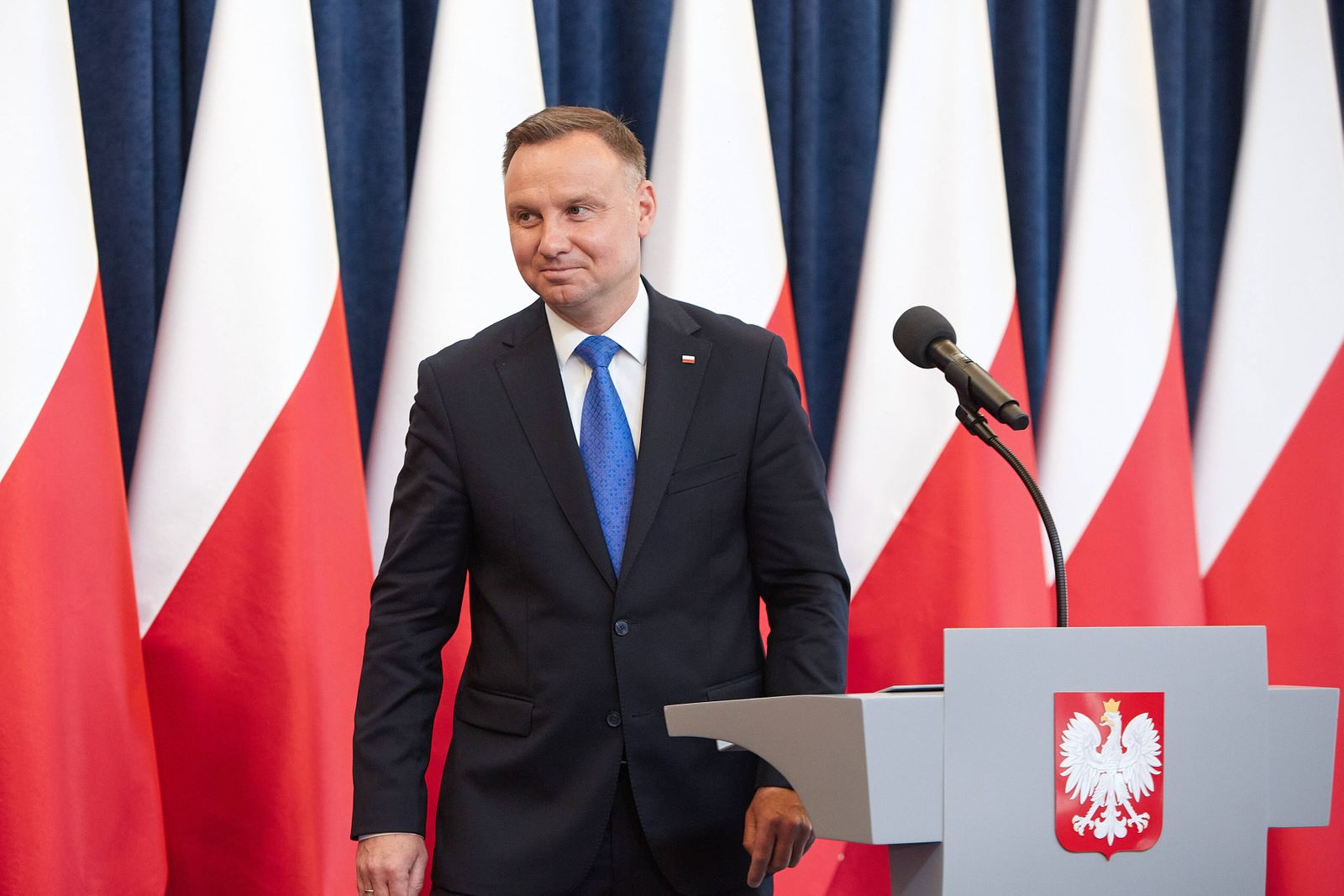 June 25, 2020, Warsaw, Mazovian, Poland: Briefing of President ANDRZEJ DUDA After the Meeting With Representatives of A