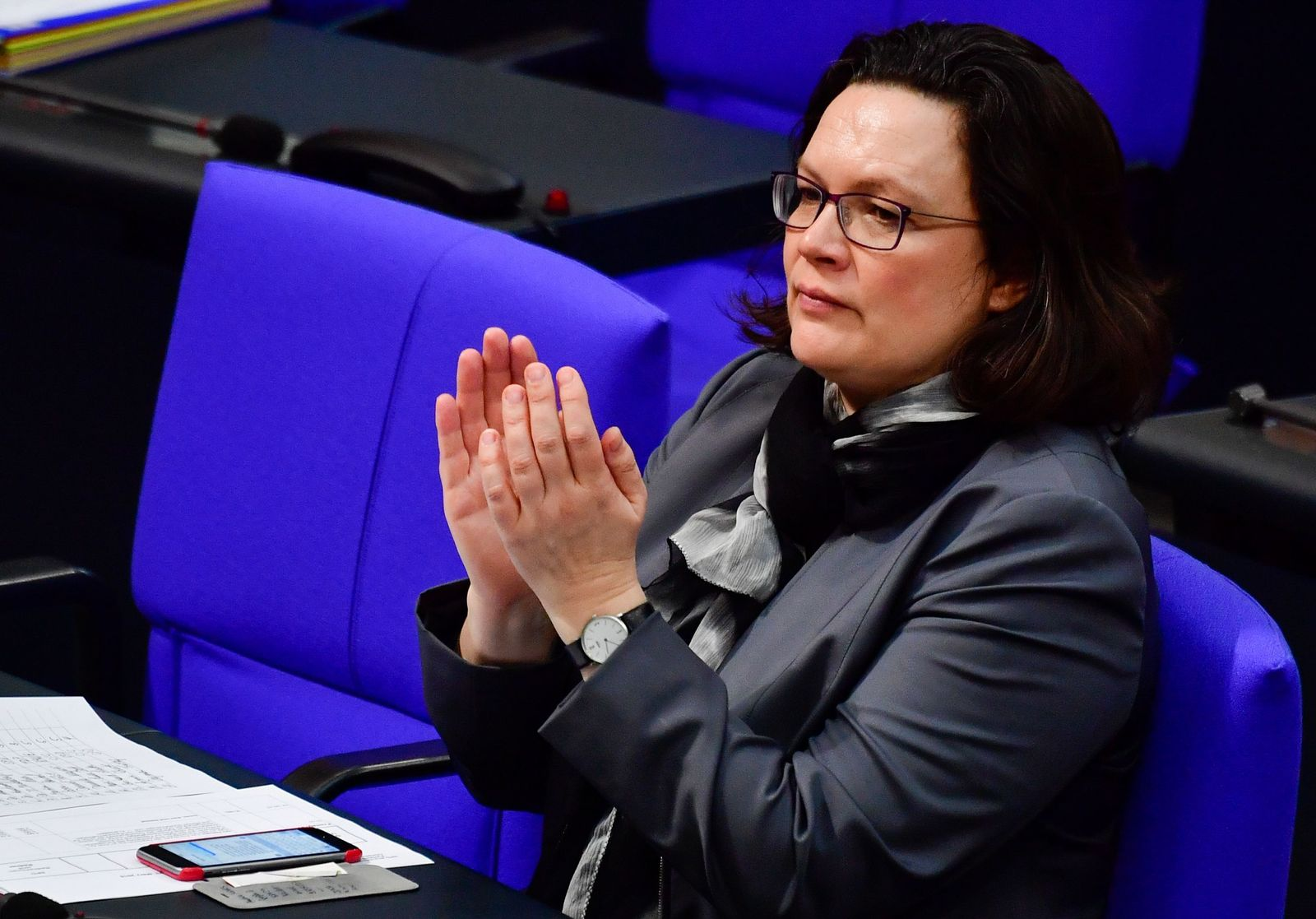GERMANY-PARLIAMENT-GOVERNMENT