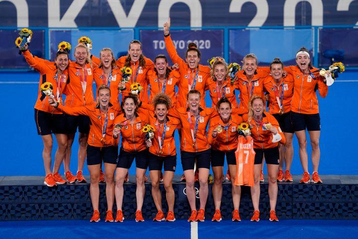 Wieder mal Gold für die niederländischen Hockey-Frauen