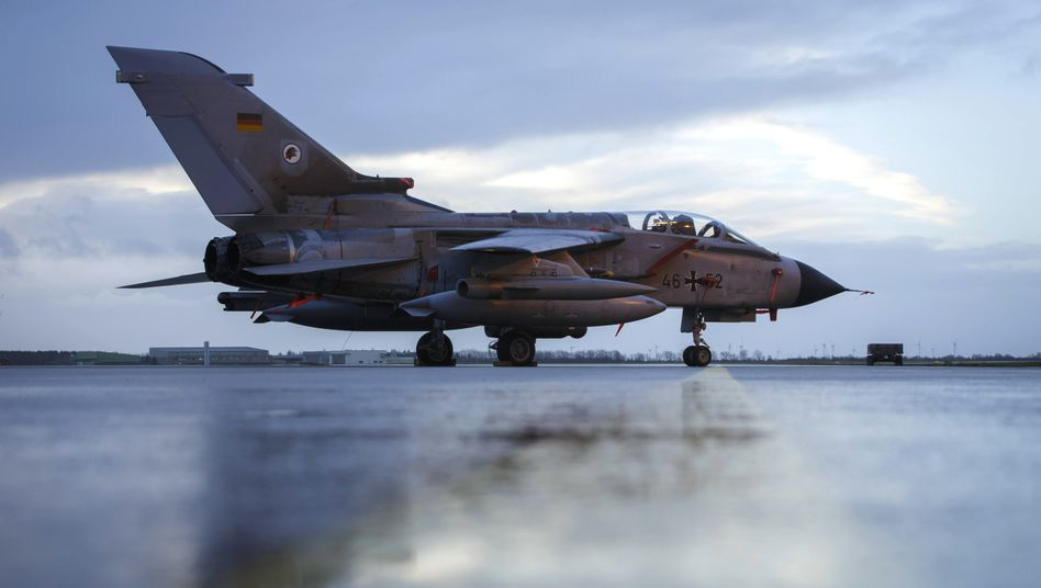 """Tornado""-Jet auf dem Fliegerhorst Jagel (Archivfoto)"