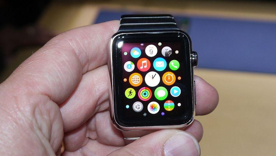 Homescreen der Apple Watch: Konfiguration per iPhone-App
