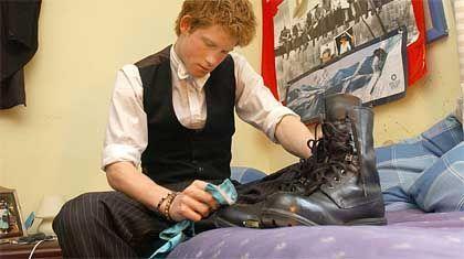 Auch Prinzen müssen Schuhe putzen