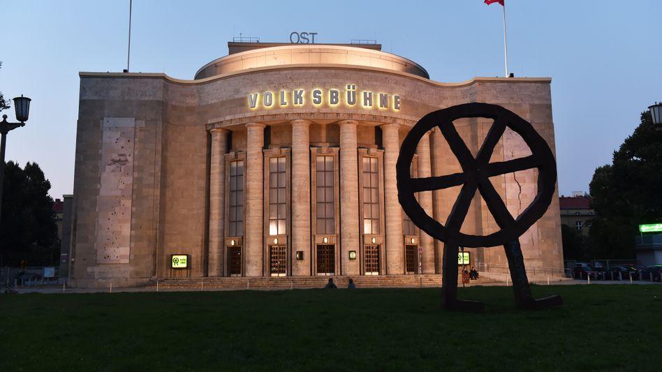Die Volksbühne in Berlin-Mitte