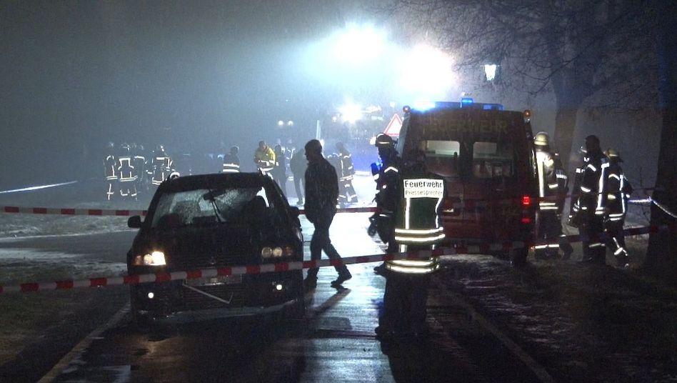 Bei einem Unfall in Breddenberg wurden acht Menschen verletzt