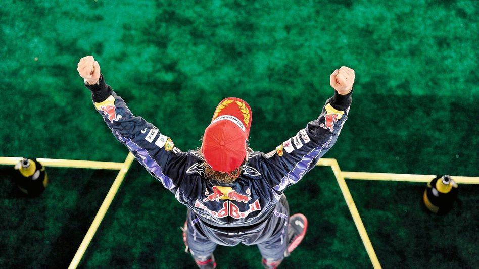 Grand-Prix-Fahrer Vettel