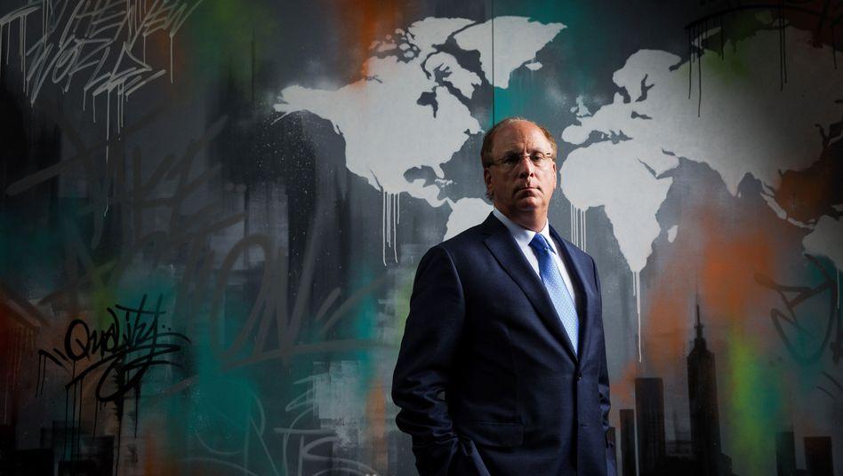 Blackrock-Chef Larry Fink: Ein außerordentlich großes und besonders dreckiges Unternehmen