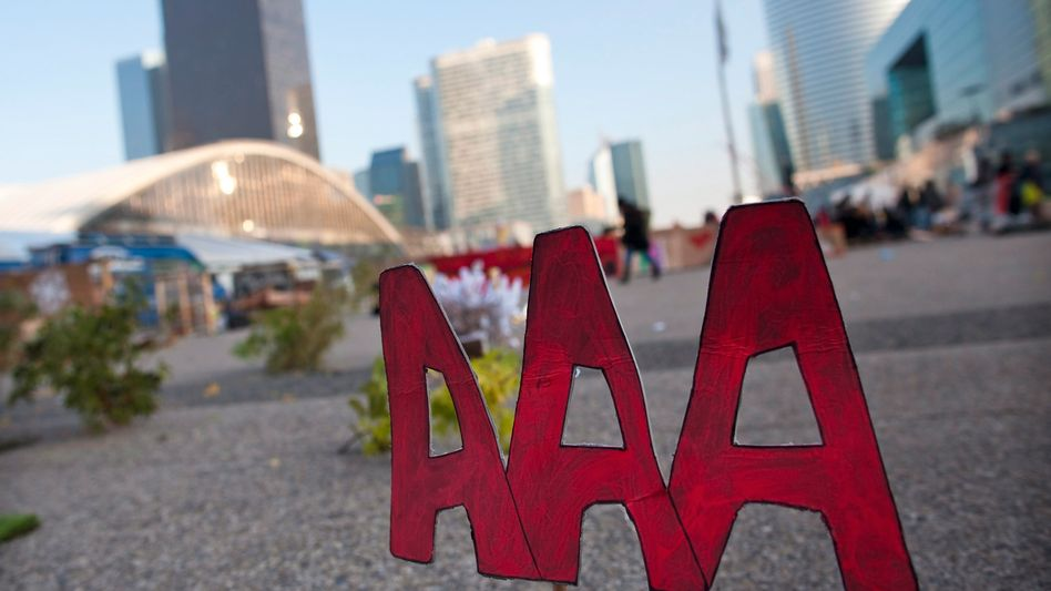 """Top-Rating-Symbol """"Triple A"""" in Paris: Europa kritisiert die US-Dominanz der Agenturen"""