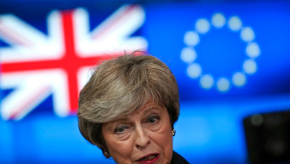 """Ex-Premierministerin May über das von Boris Johnson geplante Binnenmarktgesetz (Archivfoto): """"Unsagbarer Schaden für den Ruf Großbritanniens"""""""
