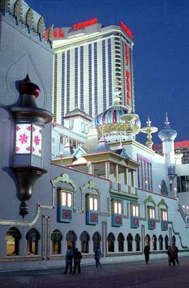 Trump-Kasino Taj Mahal: Kurz vor der Involvenz