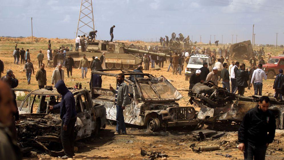 Angriff der Alliierten: Gaddafis Regime unter Feuer