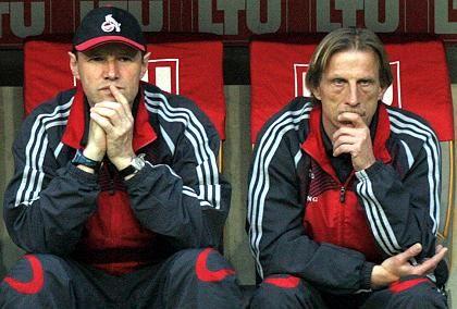Übungsleiter Daum: auch in der nächsten Saison auf der Kölner Trainerbank