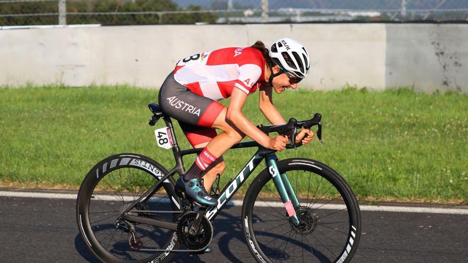 Anna Kiesenhofer gewann sensationell Gold: »Nicht gut darin, im Peloton zu fahren«