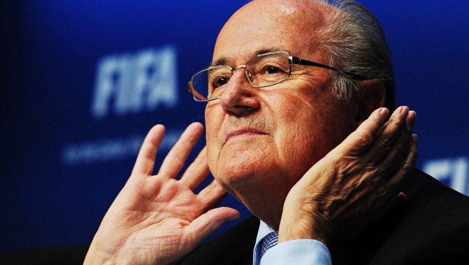 "Fifa-Boss Blatter: ""Der meistgehasste Funktionär"""