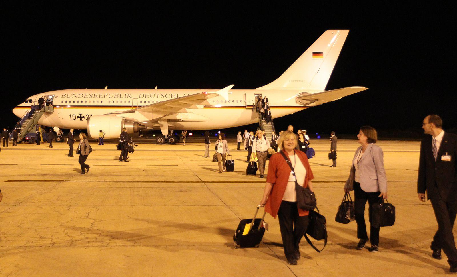 Bundeswehr Airbus defekt in Brasilien