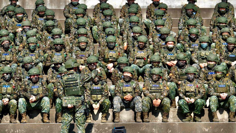 Taiwanesische Soldaten