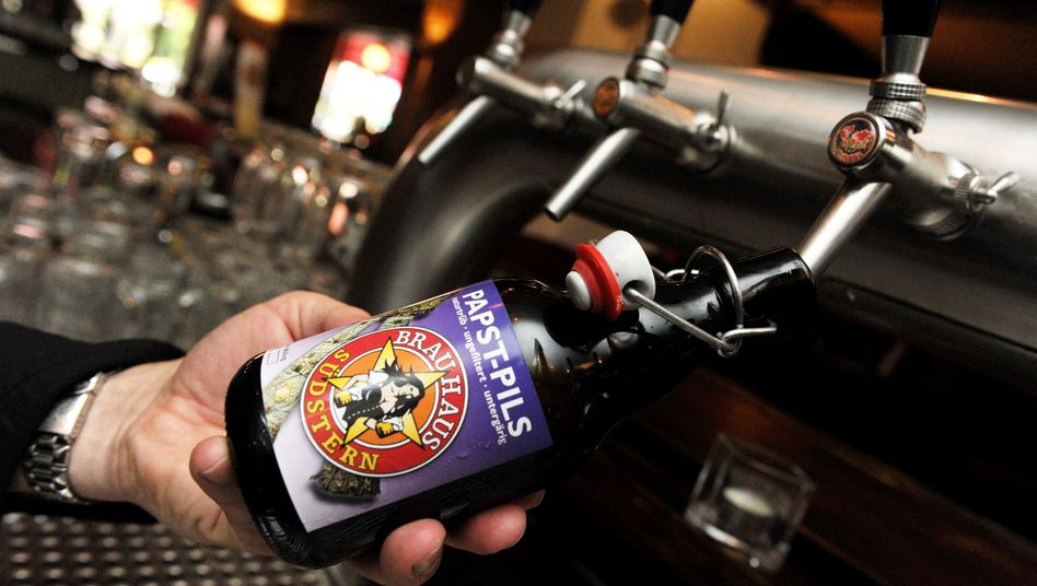 A Berlin brewery is celebrating the pope's visit with a special beer.