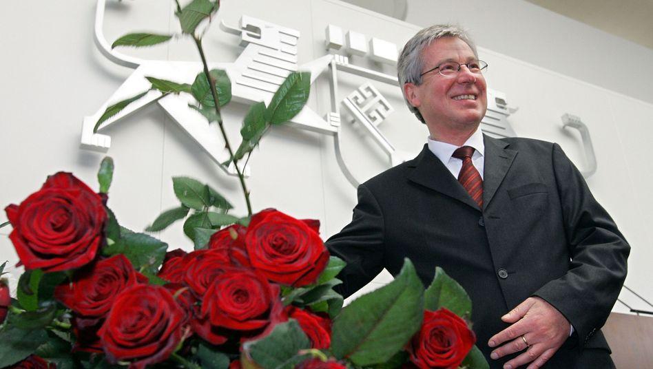 Da war noch alles gut: Böhrnsen bei seinem Amtsantritt 2005