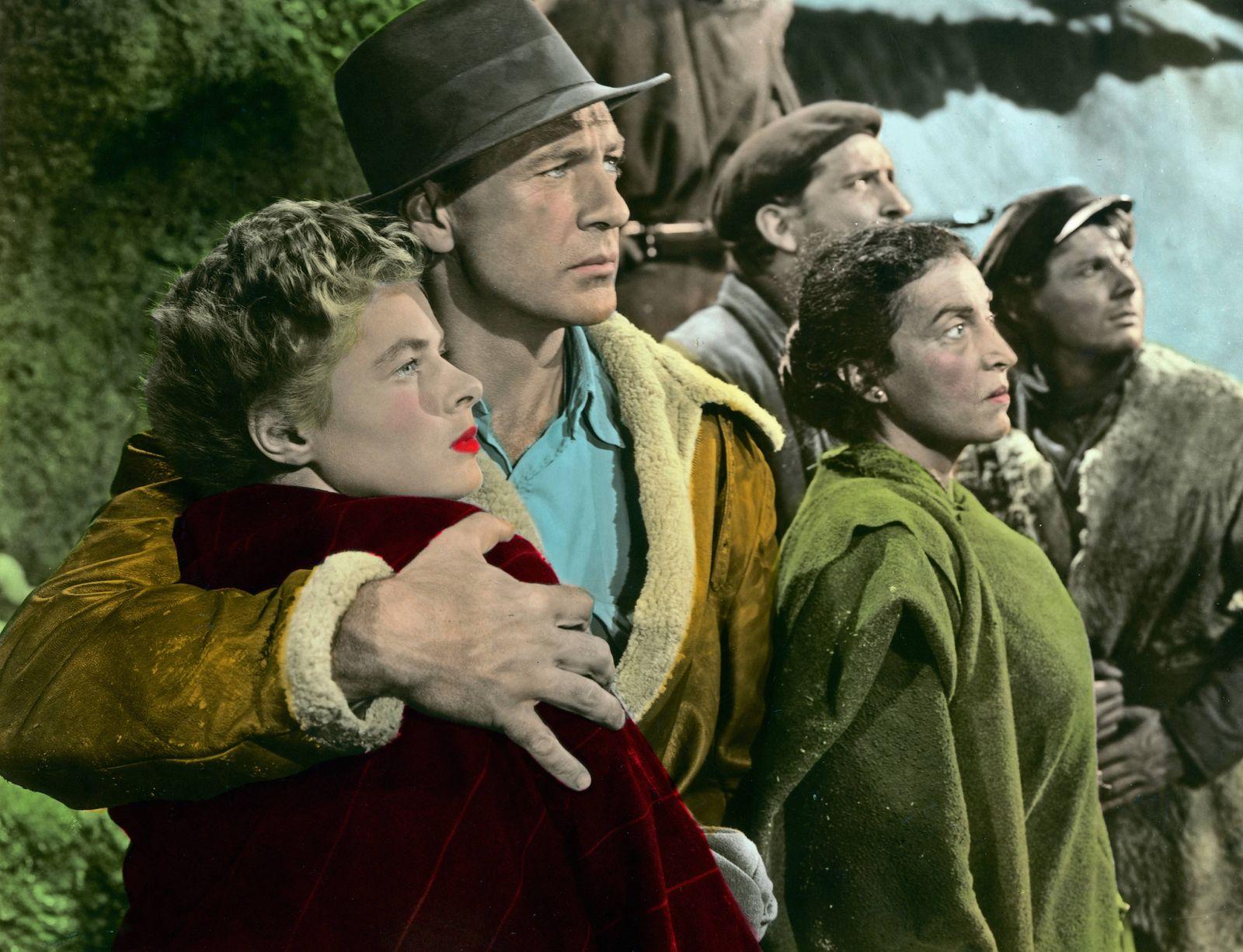For Whom The Bell Tolls aka Wem die Stunde schlägt USA 1943 Regie Sam Wood Darsteller Ingrid