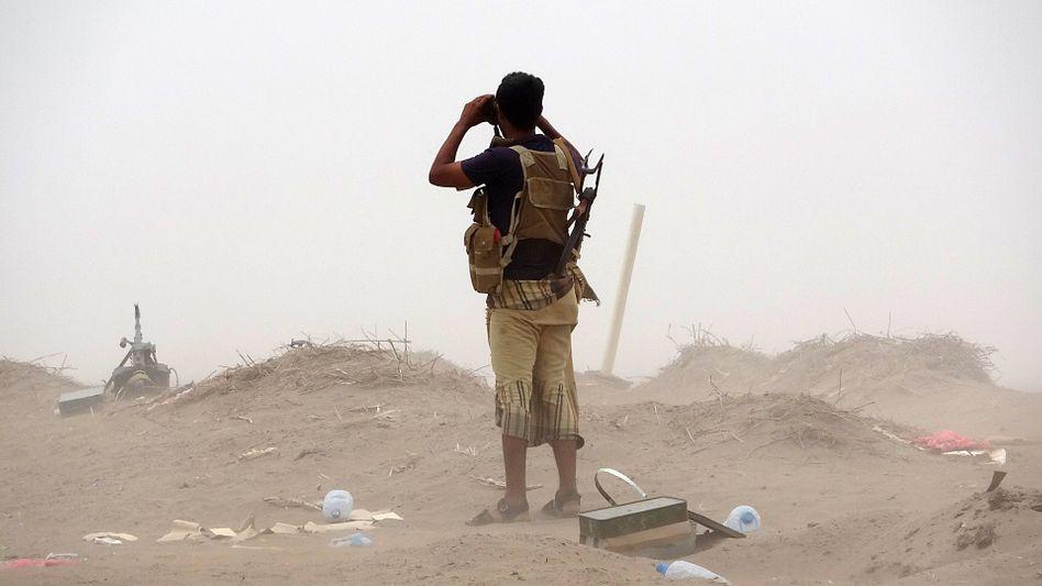 Soldat im Jemen-Krieg (Symbolbild)
