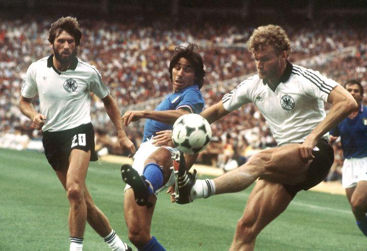 Deutschland-Italien 1982: Unzählige Knollen geleert