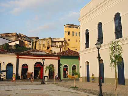 Das Örtchen Sao Luis im Nordosten Brasiliens