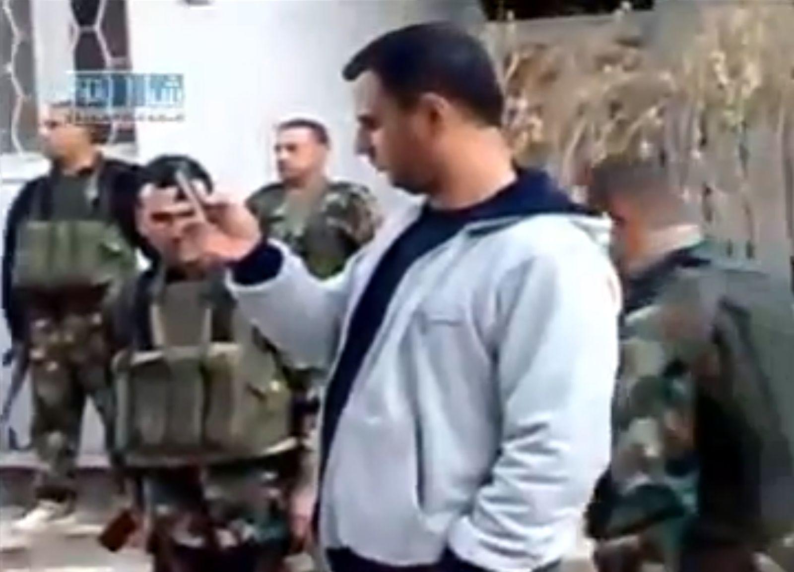 EINMALIGE VERWENDUNG Maher Assad / Fotos / Leichen