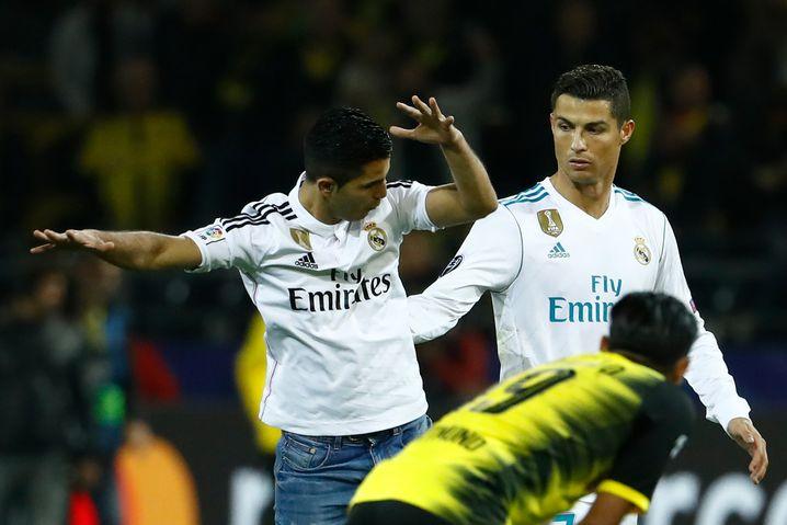 Ronaldo-Fan und sein Idol