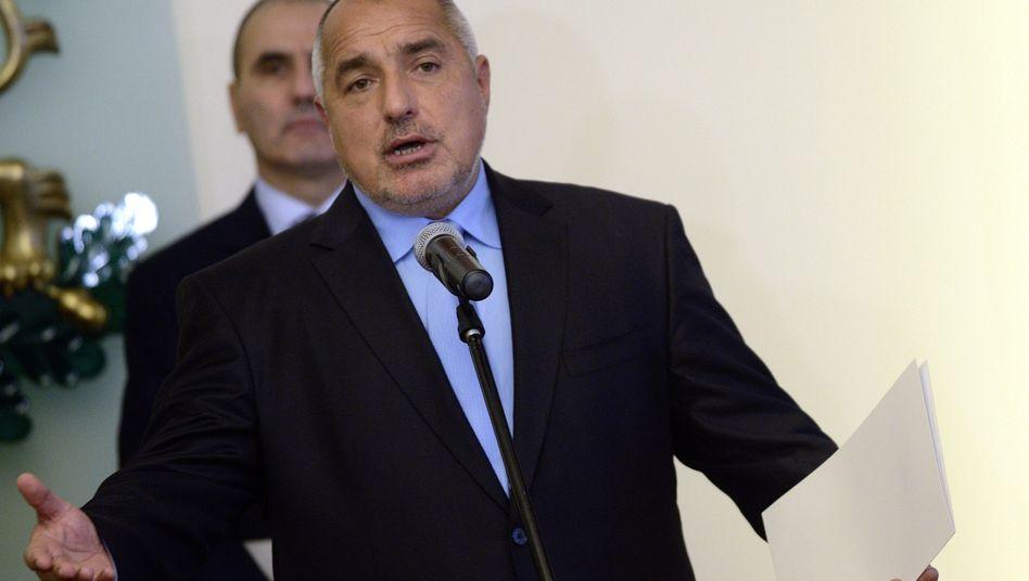 """Designierter Ministerpräsident Borissow: """"Wir haben Kompromisse gemacht"""""""
