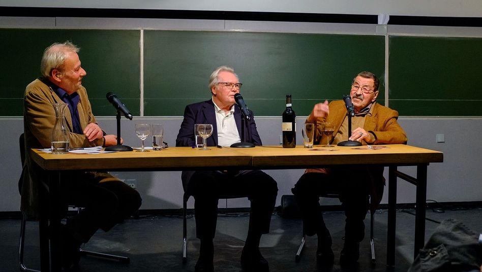 Oskar Negt und Günter Grass in Hannover: Unübersehbare Unterschiede im Temperament