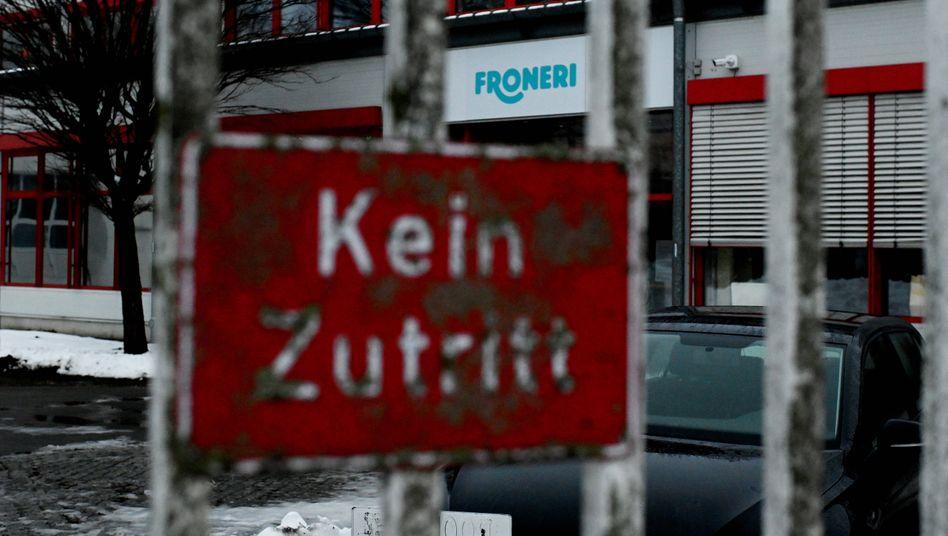 Das Eiscremewerk des Betreibers Froneri in Osnabrück: Hunderte Angestellte sind nach einem Corona-Ausbruch in Quarantäne